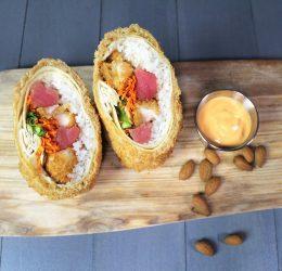 sushi wrap burrito