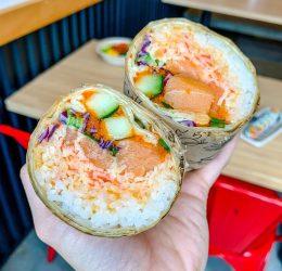 sushi wrap sushi burrito