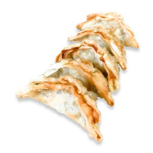 Edamame-Dumplings